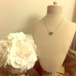 Beautiful Blue Crystal Pendant